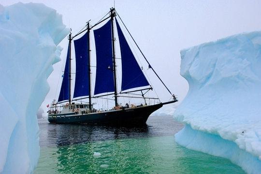 croisiere voilier en antarctique