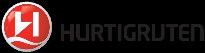 Logo de la compagnie de croisière norvégienne Hurtigruten