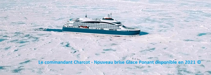 Commandant Charcot - brise glace Ponant