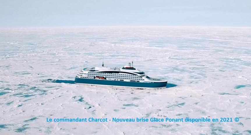 Commandant Charcot - brise glace de croisière Ponant